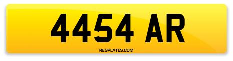 Registration 4454 AR