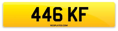 Registration 446 KF