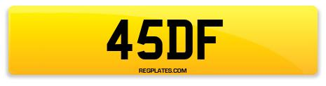 Registration 45DF