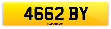 Registration 4662 BY