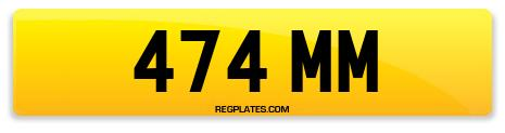 Registration 474 MM