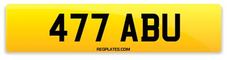 Registration 477 ABU