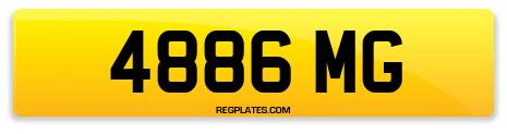 Registration 4886 MG