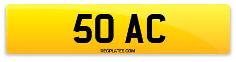 Registration 50 AC