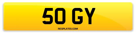 Registration 50 GY