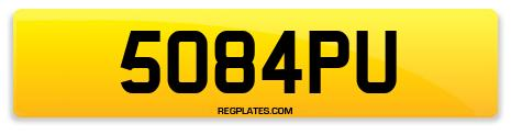 Registration 5084PU