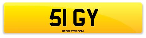 Registration 51 GY