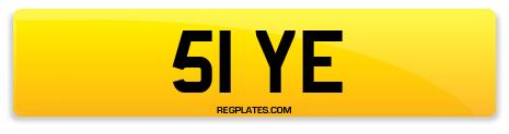 Registration 51 YE