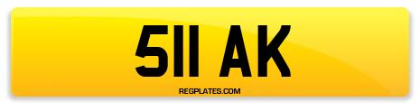 Registration 511 AK