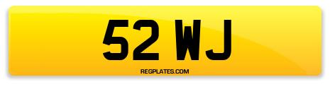 Registration 52 WJ