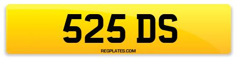 Registration 525 DS