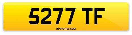 Registration 5277 TF