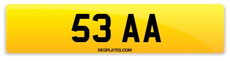 Registration 53 AA