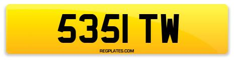 Registration 5351 TW