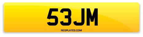 Registration 53JM