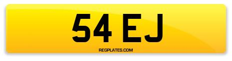 Registration 54 EJ