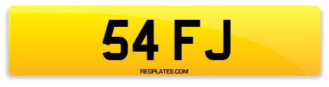 Registration 54 FJ