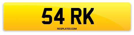 Registration 54 RK