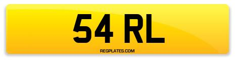 Registration 54 RL