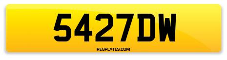 Registration 5427DW