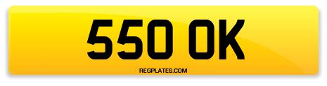 Registration 550 OK
