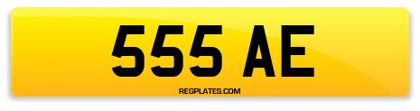 Registration 555 AE