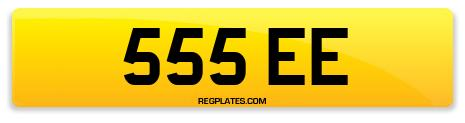 Registration 555 EE
