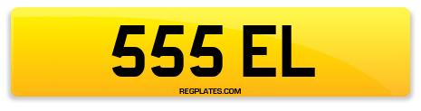 Registration 555 EL