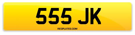 Registration 555 JK