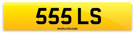 Registration 555 LS