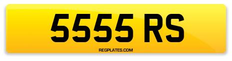 Registration 5555 RS