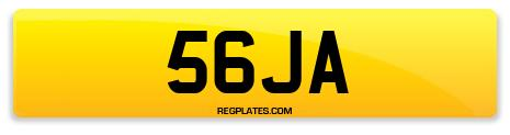 Registration 56JA