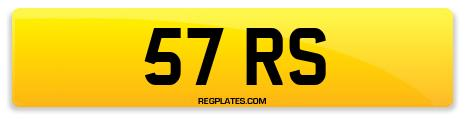 Registration 57 RS