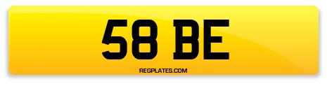 Registration 58 BE