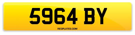 Registration 5964 BY