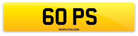 Registration 60 PS