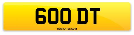 Registration 600 DT