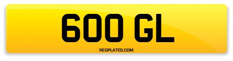 Registration 600 GL