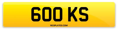 Registration 600 KS