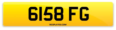 Registration 6158 FG
