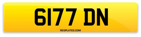 Registration 6177 DN