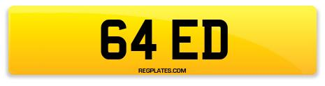 Registration 64 ED
