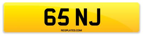 Registration 65 NJ