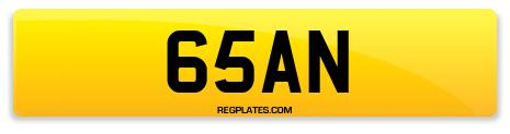 Registration 65AN