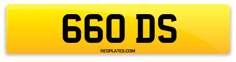 Registration 660 DS