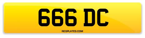 Registration 666 DC