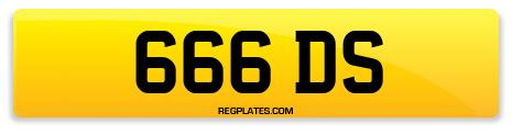 Registration 666 DS