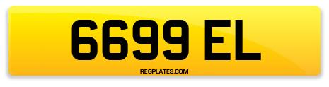 Registration 6699 EL