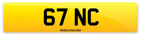 Registration 67 NC