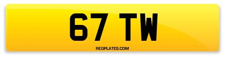 Registration 67 TW